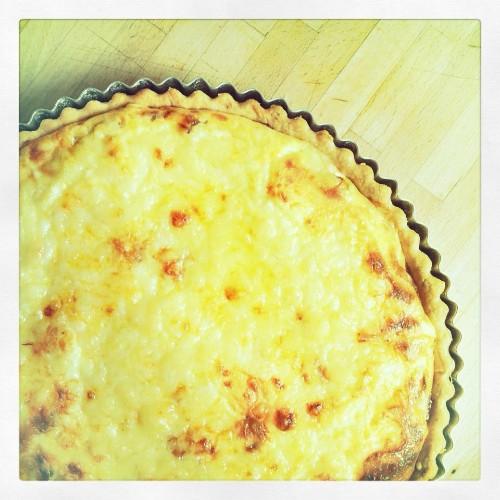 Easy Cheese and Onion Quiche Recipe