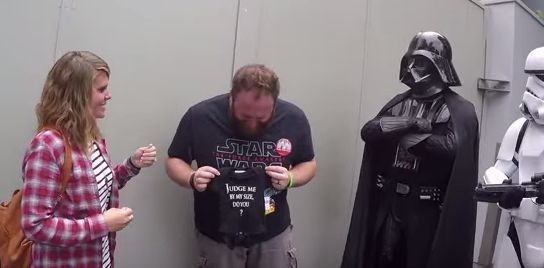 Darth Vader Lends A Hand For An Incredible Pregnancy Announcement | HuffPost Life