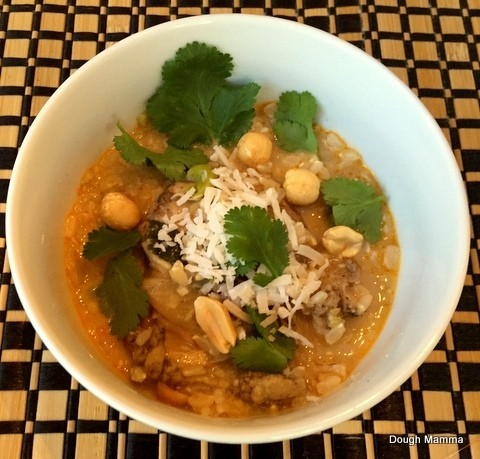 Organic Curry Chicken For Under $4.00/Person