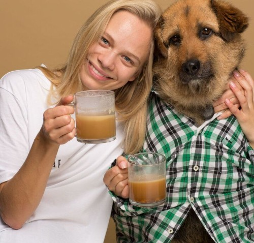 Woman Creates 'Rooffee,' A Coffee For Dogs | HuffPost Life
