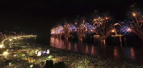 Five Amazing Places to Celebrate New Year's Eve