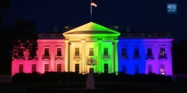 White House Goes Rainbow After Gay Marriage Supreme Court Decision