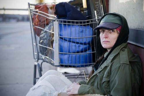 Homeless Women Say 'Me Too,' But No One Listens