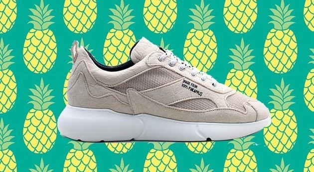 These Vegan Trainers Are Made From Pineapple Leaves