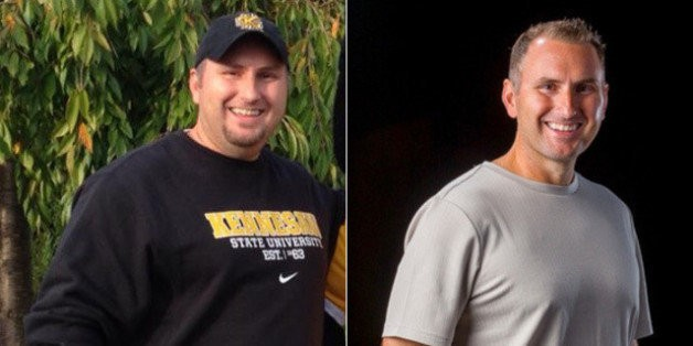After Gaining Weight When He Left The Navy, Brad Bishop Lost 65 Pounds