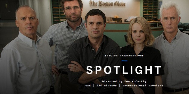 'Spotlight' Celebrates Heroes of Investigative Reporting -- and Democracy