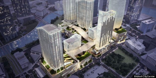 Brickell CityCentre To Feature Innovative 'Climate Ribbon' (PHOTOS)