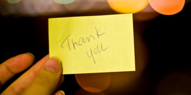 10 People You Should Send a Thank-You Note To