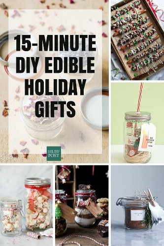 15 DIY Edible Holiday Gifts You Can Make In 15 Minutes Or Less | HuffPost Life