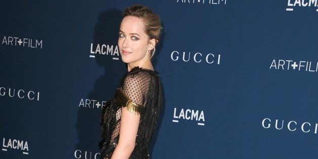 Dakota Johnson Is Ready To See Mr. Grey In The First Official 'Fifty Shades Of Grey' Photo
