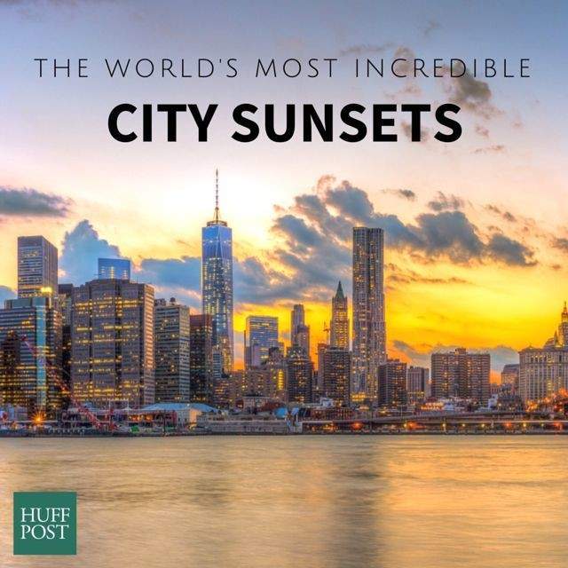 18 Incredible Photos From City Sunsets Around The World | HuffPost Life