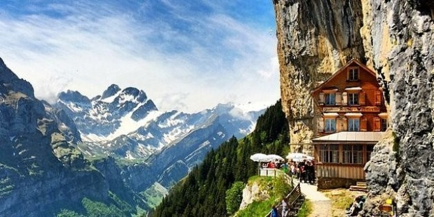 Berggasthaus Aescher-Wildkirchli And 4 Of The Most Interesting Restaurants In The World | HuffPost Life