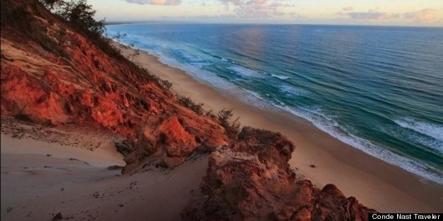 Forget White Sand Beaches, These Shores Are Pink, Black, Even Green. | HuffPost Life