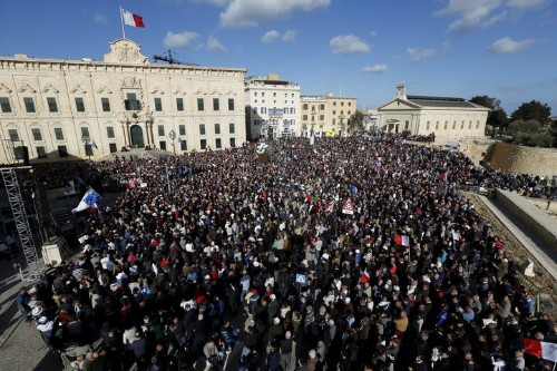 Malta's Opposition Calls For Prime Minister To Resign Over Panama Papers