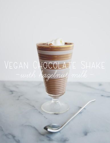 A Kitchy Kitchen Recipe: Vegan Chocolate Shake
