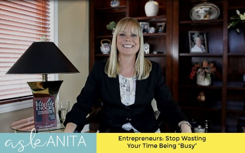 """Entrepreneurs: Stop Wasting Your Time Being """"Busy"""""""