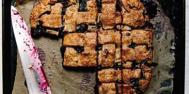 How to Make Blueberry Slab Pie   HuffPost Life