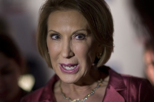 Carly Fiorina Opposes A Paid Maternity Leave Requirement