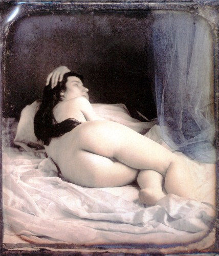 Hand-Painted Daguerreotypes From The 1850s Capture The Color Of Nudity