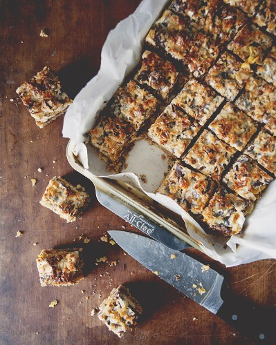 A Kitchy Kitchen Recipe: Million Layer Bars