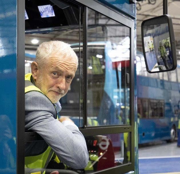 Jeremy Corbyn Pledges To Reverse Cutbacks To Thousands Of Bus Routes