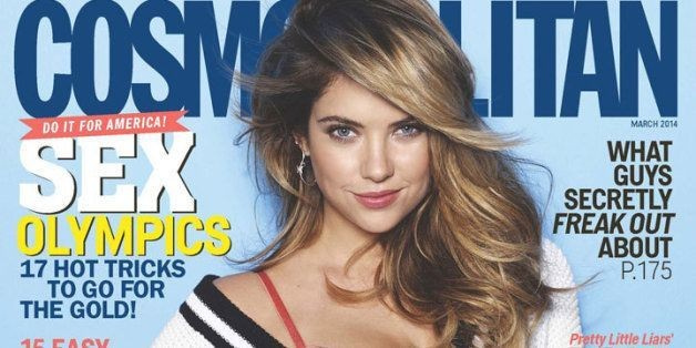 Ashley Benson Talks Nudity, Drugs & Her Ridiculous 'Pretty Little Liars' Wardrobe In Cosmopolitan
