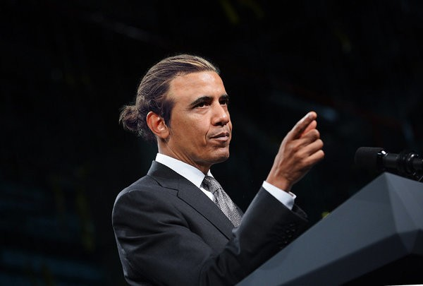 World Leaders Rock Elegant Man Buns