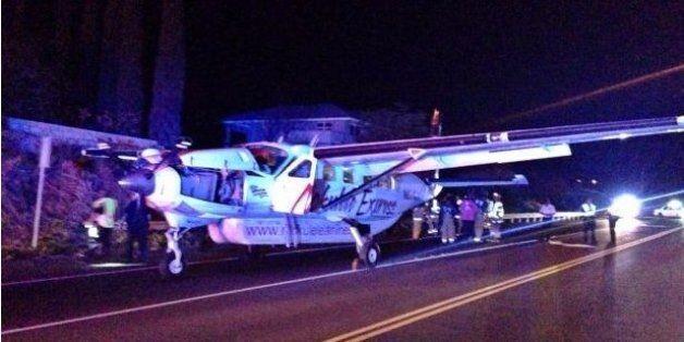 Hawaii Plane Makes Extraordinary Emergency Landing On Maui Highway | HuffPost Life
