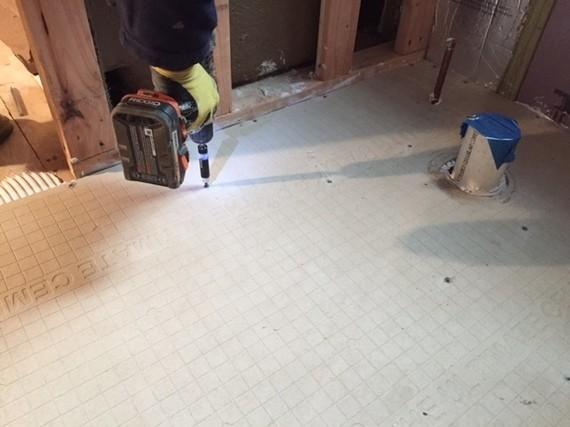 DIY: How to Tile a Bathroom Floor