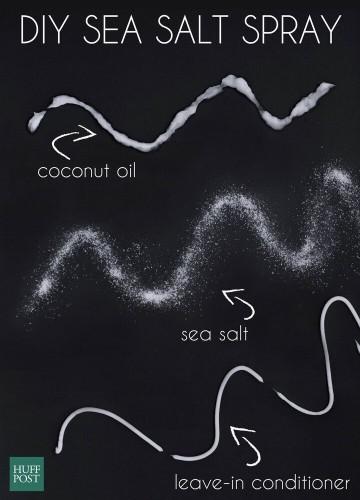 The Easiest DIY Sea Salt Spray For Soft, Beachy Waves | HuffPost Life