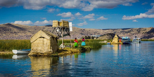 That Time I Lived on a Floating Grass Island With a Quechua Family | HuffPost Life