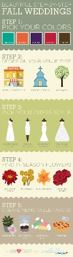 20 Classy Ideas for Fall Wedding Decorations + Details [Infographic]