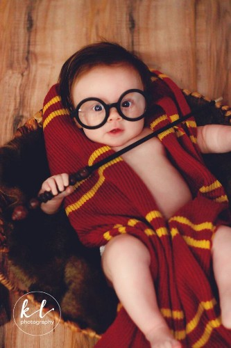This Baby Had A 'Harry Potter' Photo Shoot And It Was Magical | HuffPost Life