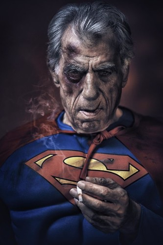 Amazing Photo Series Reveals What Aging Superheroes Would Look Like In Retirement