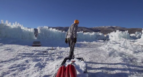 Video: Watch Utah's Amazing Ice Castles Take Shape in This Stunning Timelapse