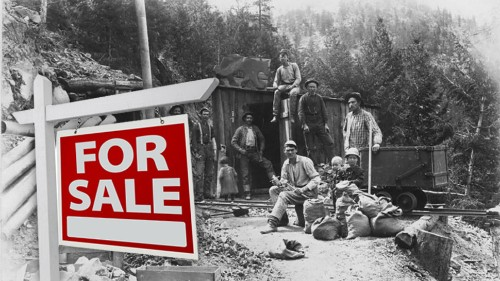 Now's Your Chance to Own an Entire Gold Mining Ghost Town