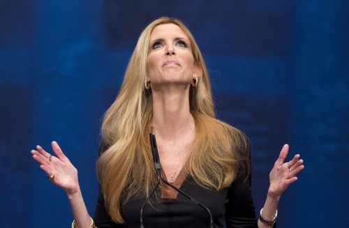 Donald Trump Spoils Ann Coulter's 'In Trump We Trust' Book Launch