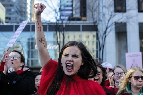 50 Photos From 2017 That Show The Power Of Women's Rage