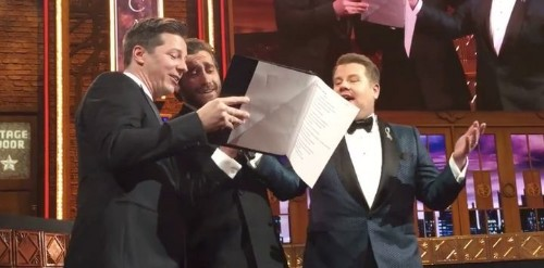 Jake Gyllenhaal And Sean Hayes Take Us To 'A Whole New World' For Tony Awards Commercial Karaoke