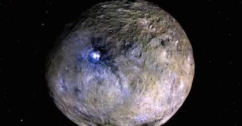 Mystery Of The Bright Spots On Ceres May Have Just Been Solved