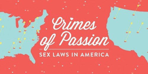 This Map of America's Weirdest Love Laws Will Totally Kill the Mood