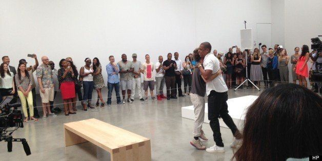 Jay-Z Dances With Artists And Curators In Chelsea For 'Picasso Baby' Video Shoot (PHOTOS)