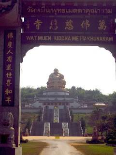 Thailand Journal: Wat Muen Buddha Mettakhunaram