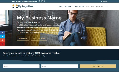 A Website in a Box - This Serial Entrepreneur's Solution to Your I-Don't-Have-a-Website Problem