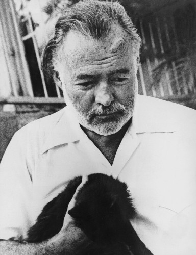 Happy Birthday To Ernest Hemingway, With Love From His Many-Toed Cats