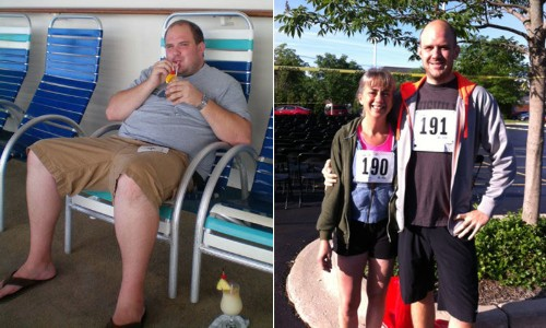 Joining A Running Group Helped Andrew Phillips Lose 144 Pounds