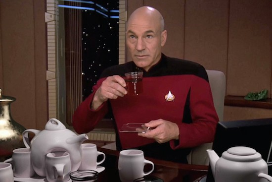 Space Babies, Tea and Jean-Luc Picard