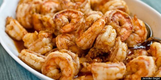 Dinner Tonight: Ginger, Garlic & Chili Shrimp