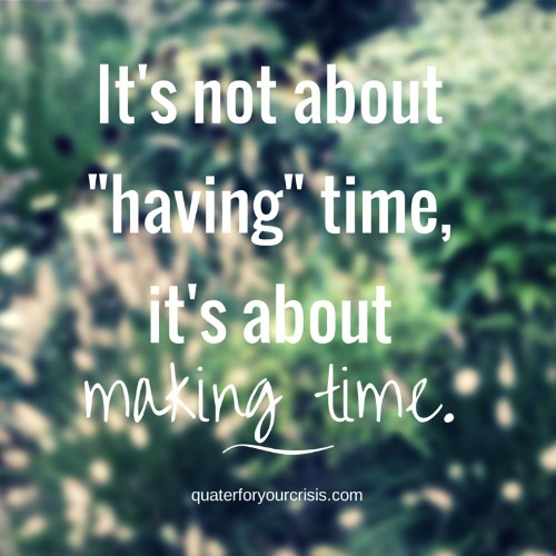 Are You Making Time for Your Friends?
