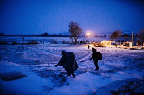 Despite Falling Temperatures, Refugee Arrivals In Europe Keep Rising